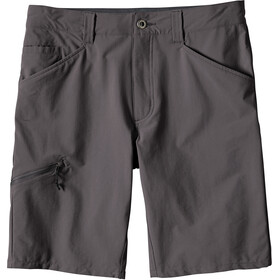 "Patagonia Quandary - Shorts Homme - 10"" gris"